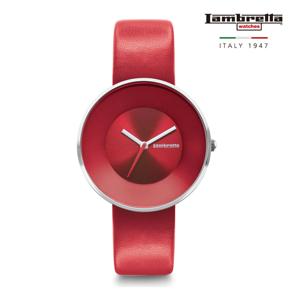 [Lambretta Watches] 람브레타 Cielo 34 Solid Red 여성시계